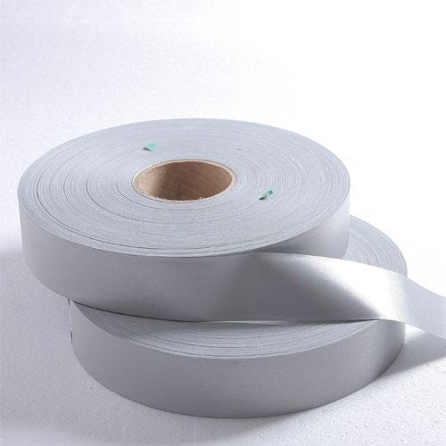 耐水洗、干洗亮银TC反光布 亮度大于420