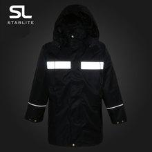 2017新城管反光雨衣分体户外防水工作服